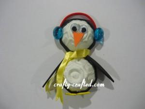 Egg Carton Penguin Fridge Magnet Crafty Crafted Com