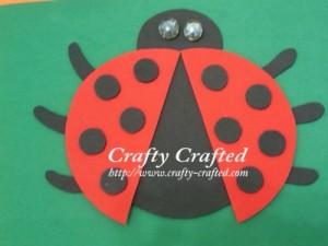 Crafty Crafted Com Crafts For Children 187 Ladybug