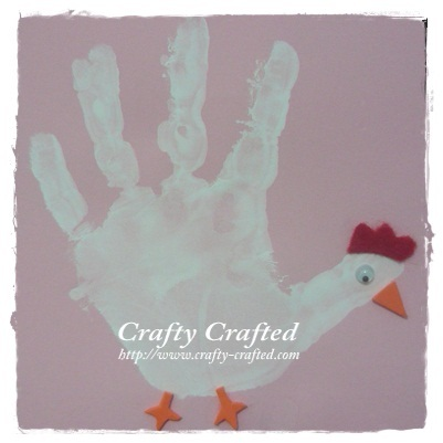 valentine handprint craft. Ratings for this craft: