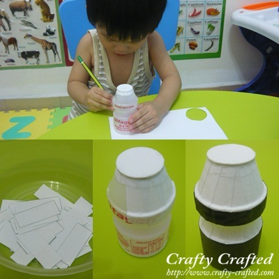 Vitagen Bottle Art And Craft