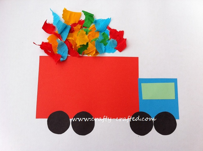 Basic Shapes Dump Truck