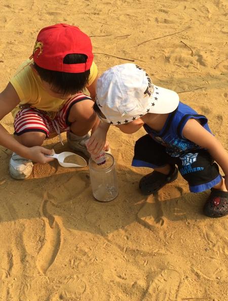 Crafty Crafted Sand Art